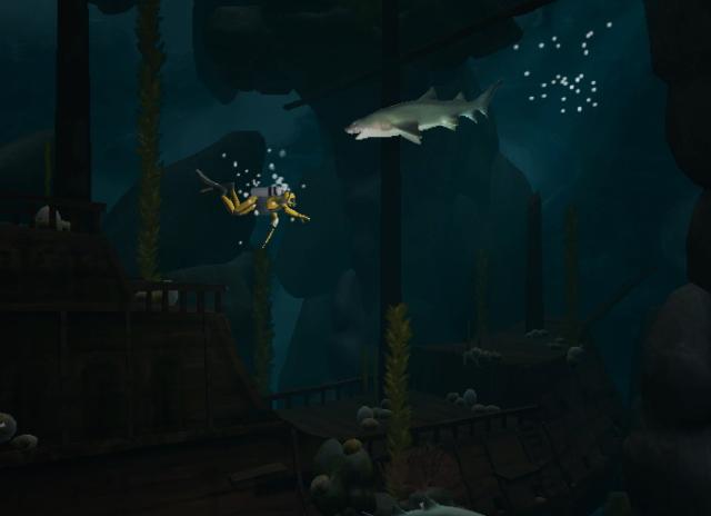 Dive, The Medes Islands Secret, game, nintendo, wii, screen, image, screenshot, screenshots, screens, images