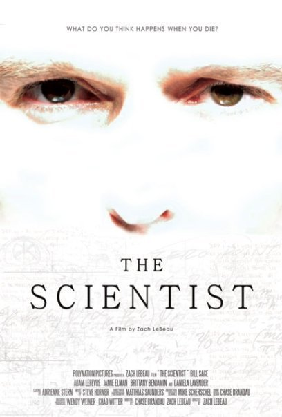 The Scientist, movie, poster, dvd, cover