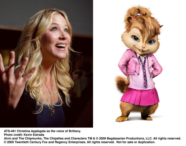 christina applegate, brittany,alvin, chipmunks, The Squeakuel