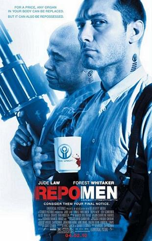 Repo Men, movie, poster, film