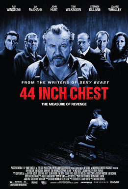 44 Inch Chest, movie, poster