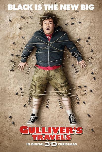 Gulliver's Travels, movie, poster