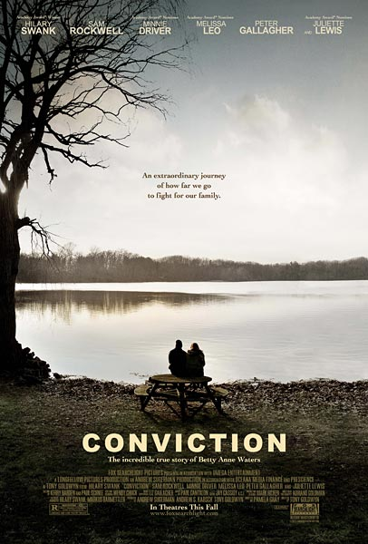 Conviction, movie, poster