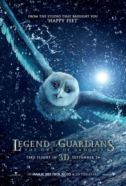 Legend of the Guardians, Movie, Poster, new, The Owls of Ga'Hoole
