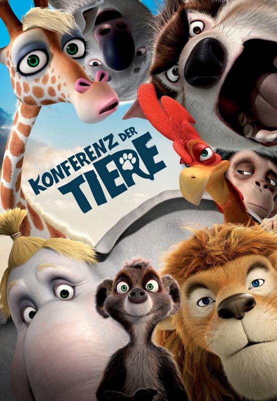 Die Konferenz der Tiere, movie, poster
