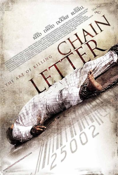 Chain Letter, movie, poster