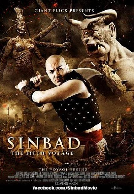 Sinbad - The Fifth Voyage, movie, poster