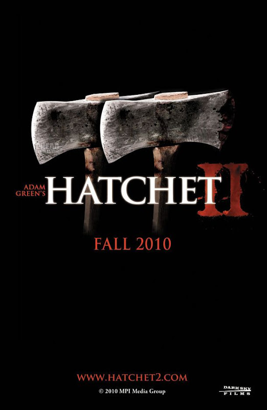 Hatchet 2, movie, poster