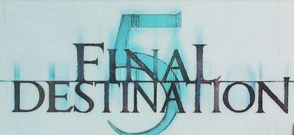 Final Destination 5, movie, poster, logo