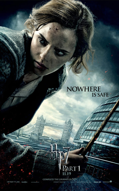 Harry Potter & the Deathly Hallows, Part I, movie, poster