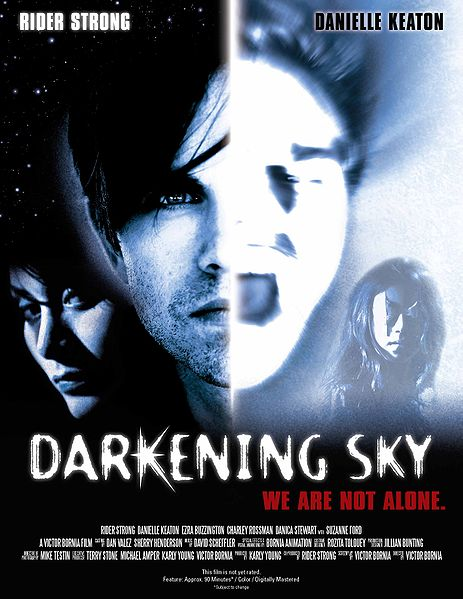 Darkening Sky, movie, poster