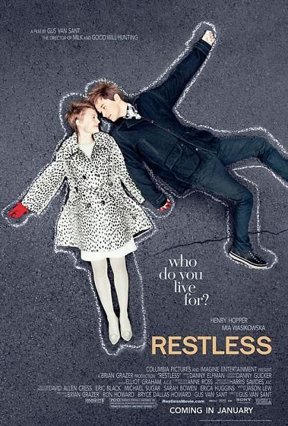 Restless, movie, poster