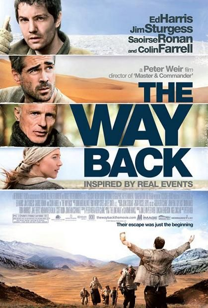 The Way Back, movie, poster