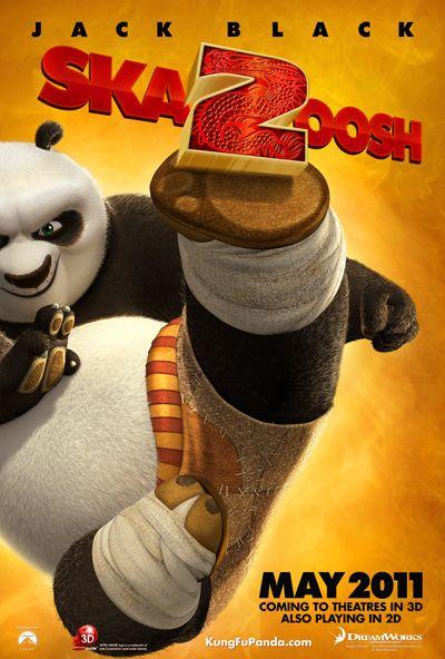 Kung Fu Panda 2: The Kaboom of Doom, movie, poster