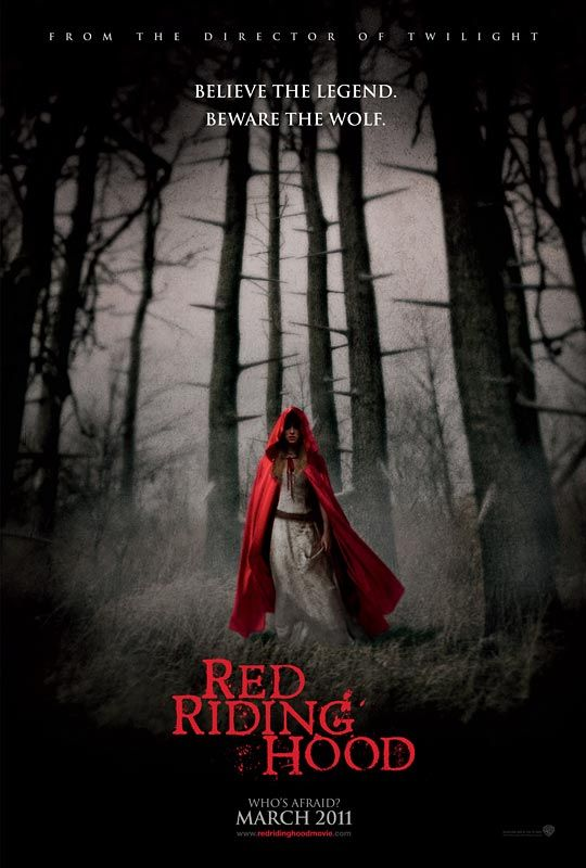 Red Riding Hood, movie, poster
