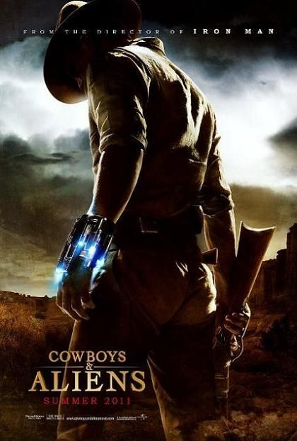 Cowboys & Aliens, movie, poster