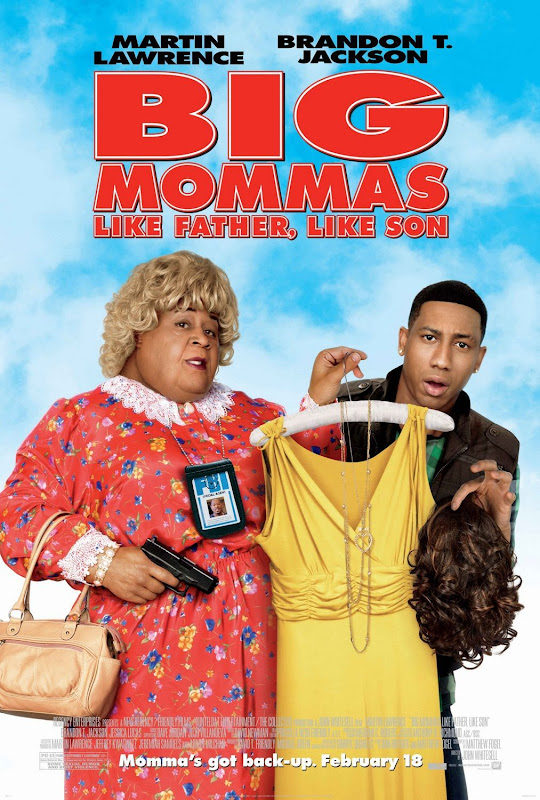 Big Mommas 3, Like Father, Like Son, movie, poster