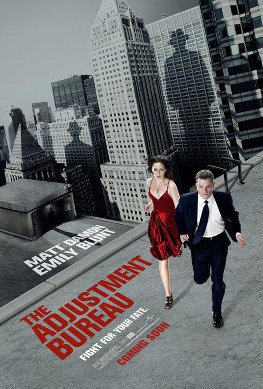 The Adjustment Bureau, movie, poster