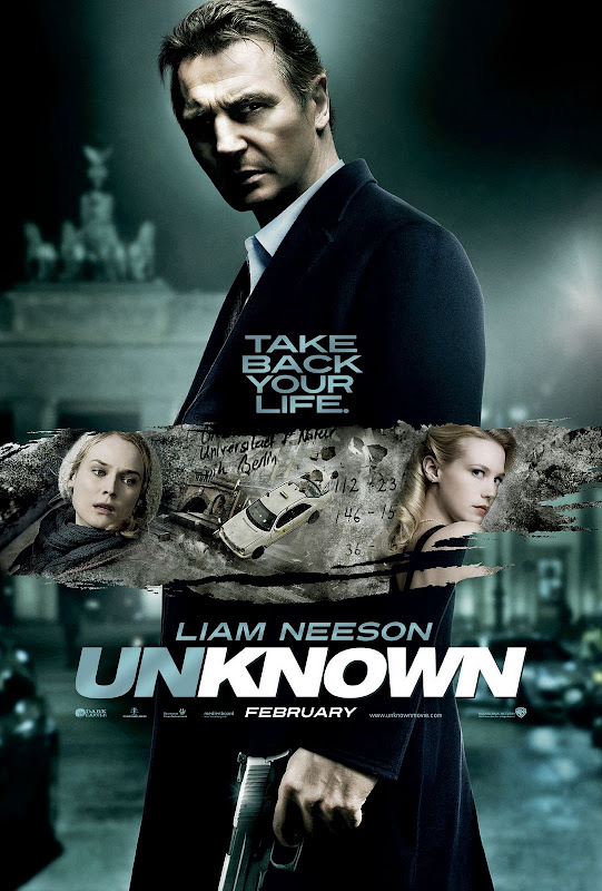 Unknown, 2011, new, movie, Poster