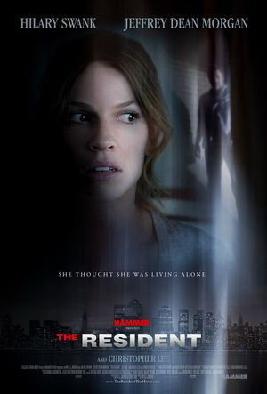 The Resident, movie, poster