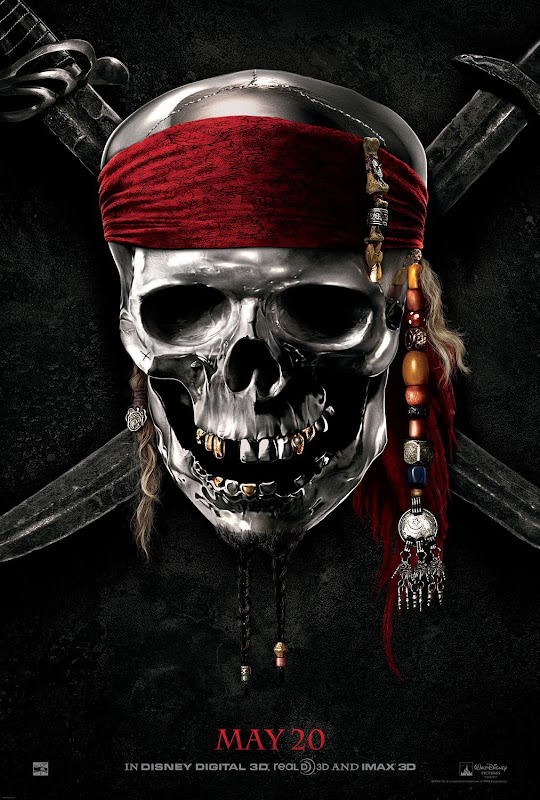 Pirates of the Caribbean 4, movie, poster