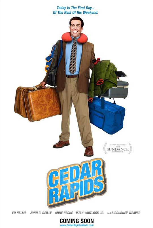 Cedar Rapids, movie, poster
