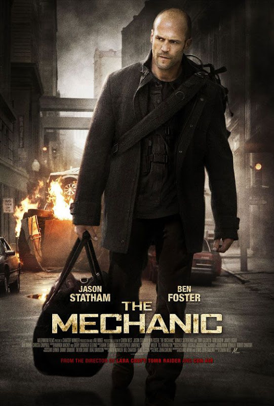 The Mechanic, new, movie, poster, Jason Statham