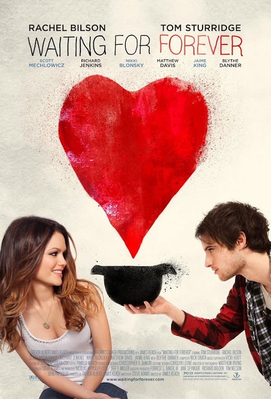 Waiting for Forever, movie, poster