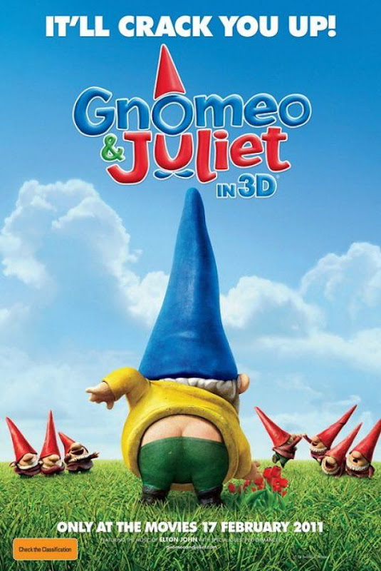 Gnomeo and Juliet, movie, poster