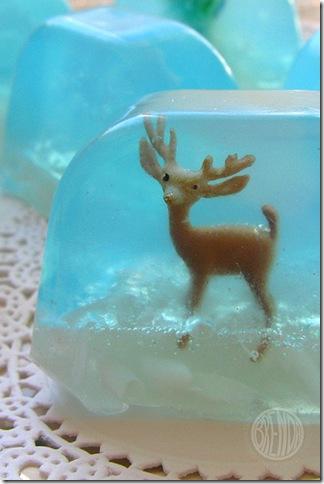 karácsonyi szappan készítés