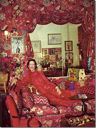 diana vreeland red