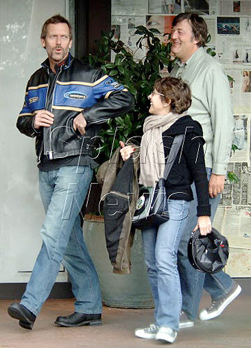 Hugh Laurie And Son