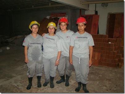 Ivanete, Geni, Edineusa e Evandra