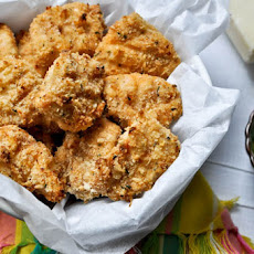 Crunchy Asiago Chicken Nuggets
