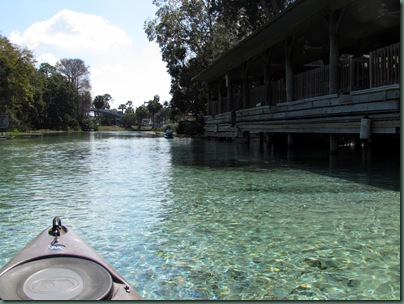 Dock at Weeki Wachee Springs