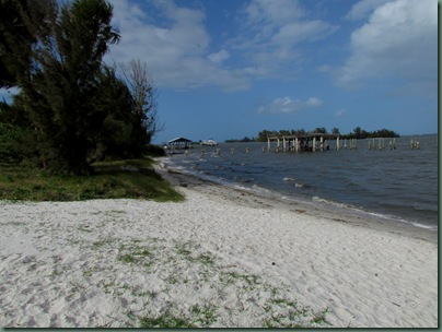 beach at Pelican Landing rv park