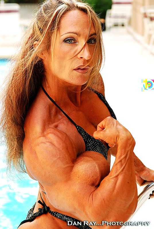 female bicep morph