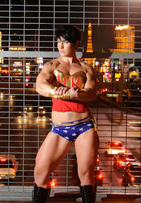 Kortney Olson as Wonder Woman