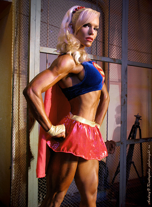 Tatiyana Tischenko as Super Girl