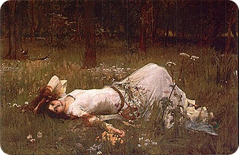 John_William_Waterhouse_Ophelia_1905