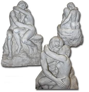 o beijo de Auguste Rodin