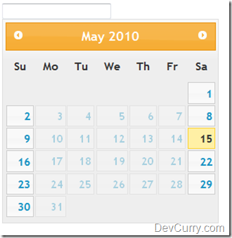 datepicker dialog how to choose a date