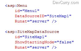 Sitemapdatasource