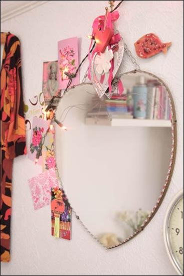 heart mirror sussie bell