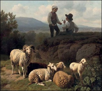 ~Robert Eberle ~Young Shepherds