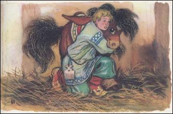 Iwan en het gebochelde paardje.