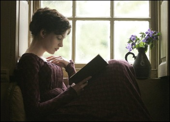 Anne Hathaway in de film Becoming Jane