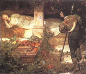 Sleeping Beauty, Edward Frederick Brewtnall (1846-1902)