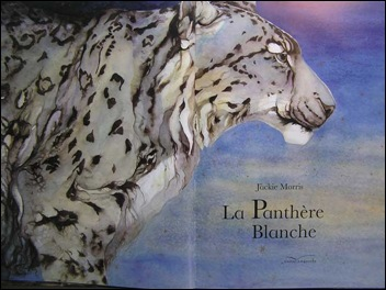 le panthere blanche title page