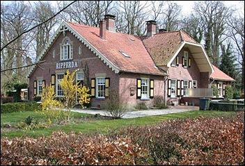 Boerderij behorende  tot het landgoed Weldam.